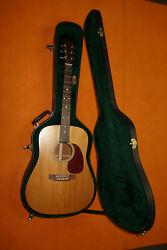 Made Usa Martin D1 Acoustic Dreadnought Solid Top And Back Vintage 1997