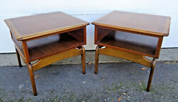 Warren Church For Lane Perception, Adrian Pearsal Pair Of End Tables