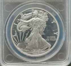 2009 Daniel Carr Proofed Overstrike American Silver Eagle - Mintage 800