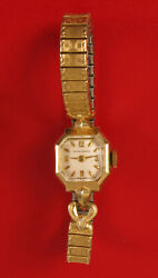 Vintage Longines Womens Watch Gold Filled Watch Not Working Classy