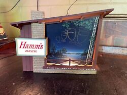 Vintage Hamms Beer Small Starry Nights Motion Sign