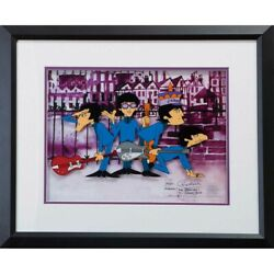 Beatles 55th Anniversary Of Japan Anime The Collection Liverpool Street _71346
