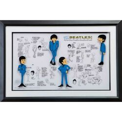 Beatles 55th Anniversary Of Japan Anime The Collection-meet Collectable O _71341