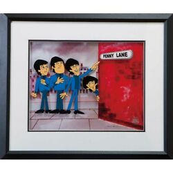 Beatles 55th Anniversary Of Japan Anime The Collection Penny Lane Collect _71350