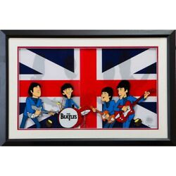 Beatles 55th Anniversary Of Japan Anime The Collection On Stage Collectab _71340