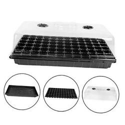 Seed Starter Kit 72 Cell Seeding Trays With Humidity Dome,2 Pack - 1020 Tray