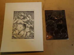 Copperplate Prints Original Set No226 Sign Edition Yes Collection Japanese Yen