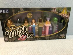Wizard Of Oz Pez Dispensers Limited Edition Set Of 8 Nib