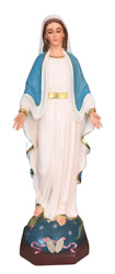 Our Lady Of Grace Blessed Virgin Mother Mary 24 Inch Large Catholic Statue