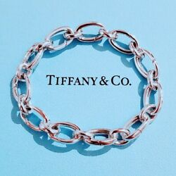 Very Rare &co. Bracelet Link Clasp Chain Silver 925 Unused Cute