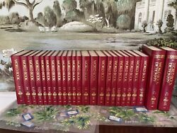 The World Book Encyclopedia 75th Anniversary Edition 1992 Hardcover Complete Set