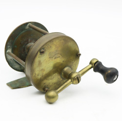 Antique Frederick F. Vom Hofe And Son Ball Handle Casting Fishing Reel