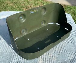 Vintage Jerry Can 5 Gallon Gas Diesel Can Metal Carrier Willys Jeep Us Military
