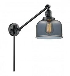 Innovations Lighting - X-large Bell-1 Light Swing Arm Wall Mount In Industrial