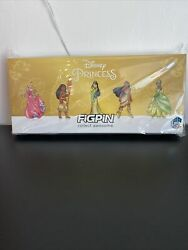 Figpin Artist Proof 6 Aps Disney Princesses Deluxe Box Set 2021 And Logo To 75