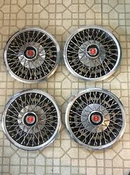 1977 78 79 80 Mustang Bobcat Pinto Wire Hubcaps 13