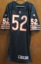 Brian Cox Autographed Chicago Bears 96 Champion Pro Cut Jersey Size 48