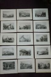 1842 China Its Scenery Architecture Etc By Allom And Bartlett 15 Chinese Plates 1