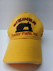 Steiner Tractor Parts New Parts For Old Tractors Trucker Farm Equipment Hat Used