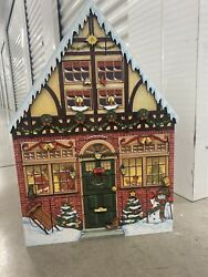 Byers Choice Large 2andrsquo Christmas House And Advent Calendar