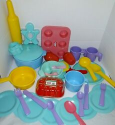 Vintage Little Tikes Dishes Playset Lot