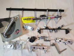 Clamps And Mounting Hardware For Cowbells, Woodblocks, And Percussion -11 Pieces
