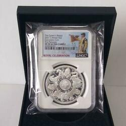 2021 S£2 The Queen's Beasts G.britain Completer Coin First Releases Ngc Pf70 Uc