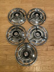 Vintage Classic 1963 1964 Chevrolet Chevy Ss Belair Impala Hubcaps Wheel Covers