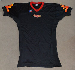 New York Dragons Russell Afl Authentic Game Cut Jersey 44 Arena Football League