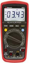 Triplett Mm520 True Rms 6000 Count High Performance Digital Multimeter With L...
