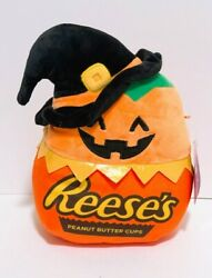 Squishmallows X Hershey Halloween 8 Paige Reeseand039s Peanut Butter Cups Plush Doll