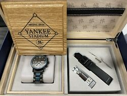 Limited Edition New York Yankee 44mm Chronograph Watch 12 Of 12