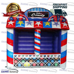 13x6.6ft Inflatable Concession Stand For Event Treat Shop With Air Blower