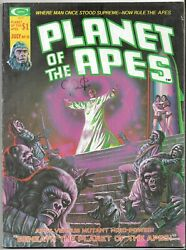Planet Of The Apes Volume 1 Number 10 Vintage Magazine July 1975 See Photos