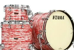 Tama Starclassic Maple Red And White Oyster 3pc. Drum Set Mr32tzs-rwo