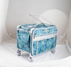 1xl -gray Turquoise Daisies Monster Machine On Wheels