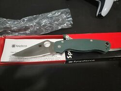 Spyderco Paramilitary 2 C81gpgr2, Cts-204p Steel, Forest Green G-10 New