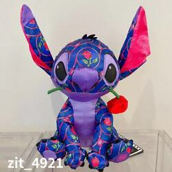Authentic Disney Store Stitch Crash Beauty And The Beast Plush January Toy