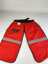 Laborville Made In Usa Red Premium Chainsaw Wrap 32 Inch Chaps