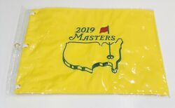 2019 Masters Golf Flag Embroidered Augusta National Pin Flag Tiger Woods