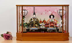 Doll Case Ornaments Kazari Stationery Glass Included First Festival Set