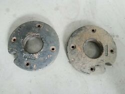 Sears Suburban Cast Iron Wheel Weights Pair 33 Pounds Each 1307h1 For 12wheel