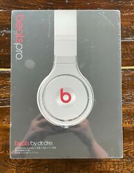 Sealed Beats Pro By Dr. Dre, White, Japanese Model Discontinued, Rare