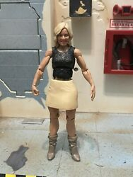 WWE Renee Young Mattel Basic Series 60 Loose Paquette Jon Moxley AEW