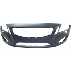 For Volvo S60 Bumper Cover 2012 2013   Front   Primed   W/ Hlw Holes