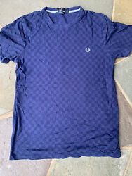 fred perry checkerboard mod T shirt $27.50
