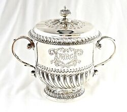 Sterling Silver Motor Racing Trophy. Private Competitors Race Brooklands 1910.