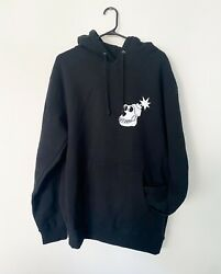 Authentic Bayc Member Exclusive X The Hundreds Black Hoodie Medium