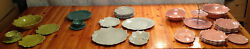 Russel Wright Woodfield Dinnerware In Mint Condition 4 Different Colors