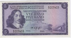 Nd1967 South Africa 5 Rand Replacement Note | Bank Notes | Pennies2pounds